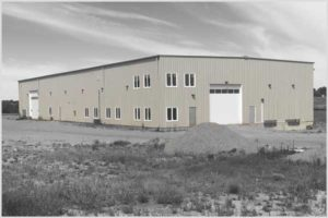 Hardline Transport's New Building