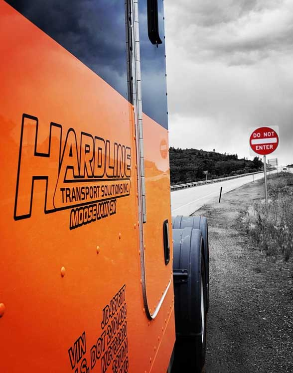 Hardline Transport Truck